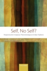 Self, No Self? : Perspectives from Analytical, Phenomenological, and Indian Traditions - Book