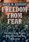 Freedom from Fear : The American People in Depression and War, 1929-1945 - eBook