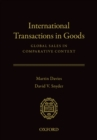 International Transactions in Goods : Global Sales in Comparative Context - eBook
