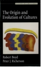 The Origin and Evolution of Cultures - eBook