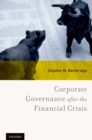 Corporate Governance after the Financial Crisis - eBook