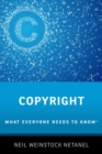 Copyright : What Everyone Needs to Know (R) - Book