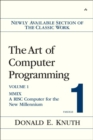 The Art of Computer Programming, Volume 1, Fascicle 1 : MMIX -- A RISC Computer for the New Millennium - Book