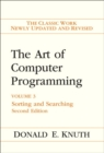 Art of Computer Programming, The : Volume 3: Sorting and Searching - Book