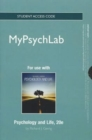 NEW MyLab Psychology without Pearson eText -- Standalone Access Card -- for Psychology and Life - Book