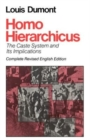 Homo Hierarchicus : Caste System and Its Implications - Book