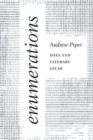 Enumerations : Data and Literary Study - Book