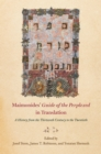 "Maimonides' ""Guide of the Perplexed"" in Translation : A History from the Thirteenth Century to the Twentieth - eBook"