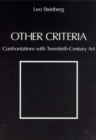 Other Criteria : Confrontations with Twentieth-Century Art - Book