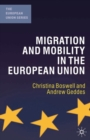 Migration and Mobility in the European Union - Book
