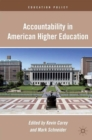 Accountability in American Higher Education - eBook