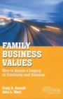Family Business Values : How to Assure a Legacy of Continuity and Success - eBook