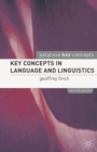 Key Concepts in Language and Linguistics - eBook