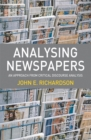 Analysing Newspapers : An Approach from Critical Discourse Analysis - eBook