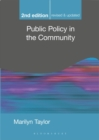 Public Policy in the Community - Book
