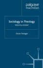 Sociology in Theology : Reflexivity and Belief - eBook
