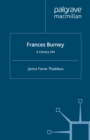Frances Burney : A Literary Life - eBook
