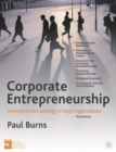 Corporate Entrepreneurship : Innovation and Strategy in Large Organizations - Book