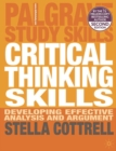 Critical Thinking Skills : Developing Effective Analysis and Argument - eBook