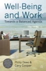 Well-Being and Work : Towards a Balanced Agenda - eBook