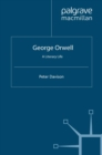 George Orwell : A Literary Life - eBook