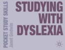 Studying with Dyslexia - eBook