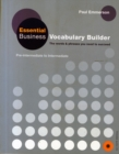 Essential Business Vocabulary Builder Students Book Pack - Book