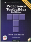 Proficiency Testbuilder 2013 Student's Book with key & MPO Pack : Proficiency Testbuilder 2013 SB + Key + MPO Pack - Book