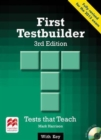 First Testbuilder 3rd edition Student's Book with key Pack - Book