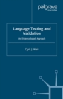Language Testing and Validation : An Evidence-Based Approach - eBook