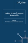 Making Urban Transport Sustainable - eBook