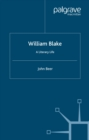 William Blake : A Literary Life - eBook
