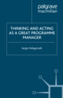 Thinking and Acting as a Great Programme Manager - eBook