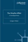 The Dreyfus Affair : A Chronological History - eBook