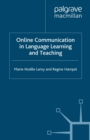 Online Communication in Language Learning and Teaching - eBook