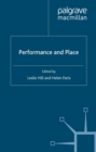 Performance and Place - eBook