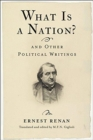 What Is a Nation? and Other Political Writings - Book