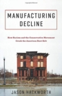 Manufacturing Decline : How Racism and the Conservative Movement Crush the American Rust Belt - Book