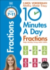 10 Minutes a Day Fractions - Book