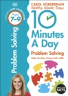 10 Minutes a Day Problem Solving Ages 7-9 Key Stage 2 - Book