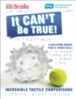 DK Braille It Can't Be True! - Book