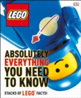 LEGO Absolutely Everything You Need to Know - Book