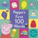 Peppa Pig: Peppa's First 100 Words - Book