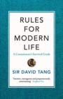 Rules for Modern Life : A Connoisseur's Survival Guide - Book