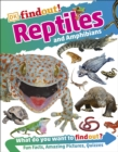 DKfindout! Reptiles and Amphibians - Book