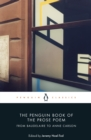 The Penguin Book of the Prose Poem : From Baudelaire to Anne Carson - eBook