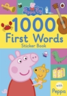Peppa Pig: 1000 First Words Sticker Book - Book