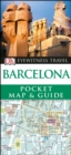 DK Eyewitness Barcelona Pocket Map and Guide - Book