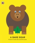 A Bare Bear : A book of words that sound the same - Book