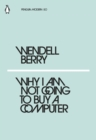 Why I Am Not Going to Buy a Computer - eBook